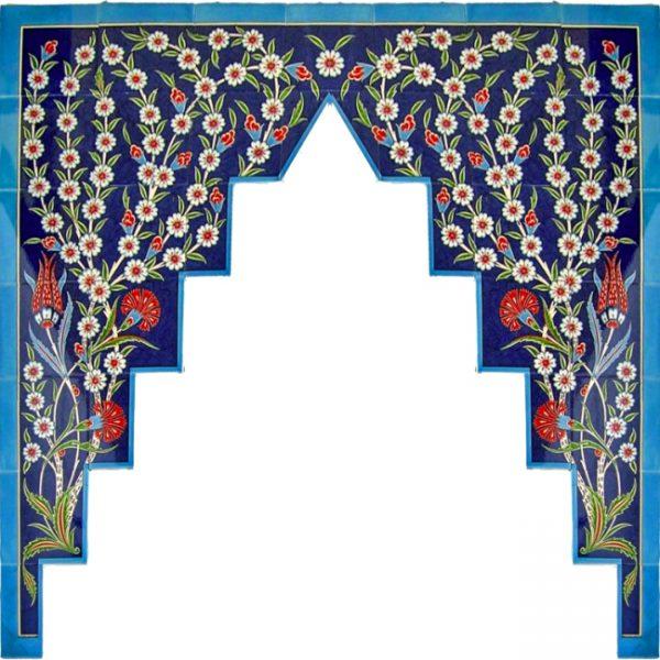 Cami Kemerleri-Mihrap-El Dekoru-CK-08-